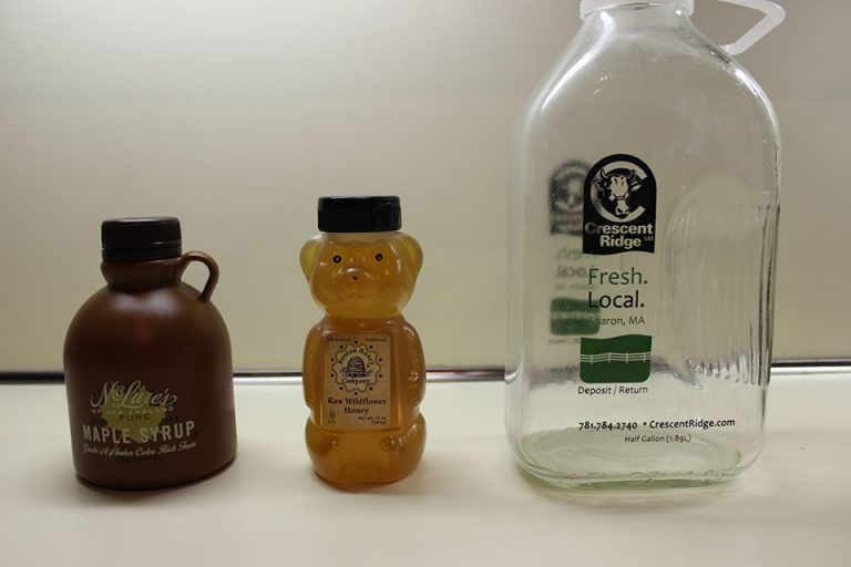 Infuse the vodka with honey or maple syrup